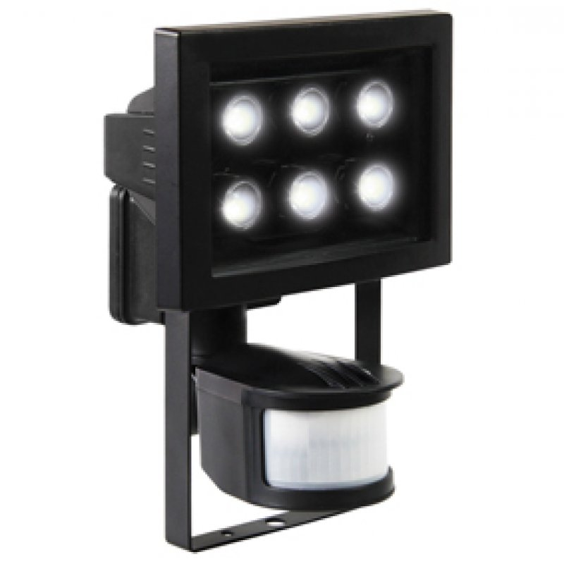 xq 1010 ranex xq lite 6 led aussenlampe mit. Black Bedroom Furniture Sets. Home Design Ideas